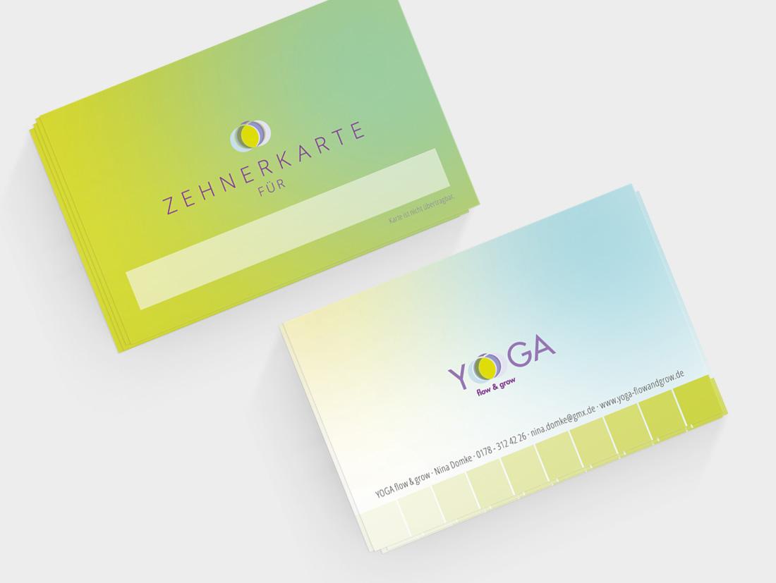10er-Karte für Yoga flow&grow in Düsseldorf